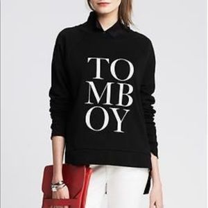 Banana Republic Tomboy Sweatshirt